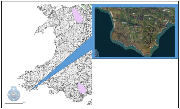 Castlemartin Peninsula Pembrokeshire