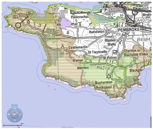 Castlemartin Peninsula Priority Sites