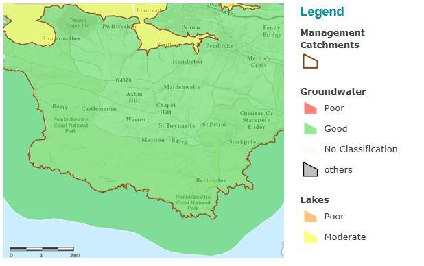 Castlemartin Peninsula WFD